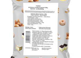Tejszínes-vaníliás pudingpor 250g