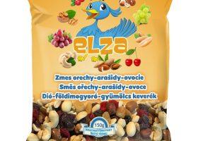 Dió-földimogyoró-gyümölcs keverék ELZA 150g